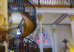 Nuns on the Miraculous Staircase