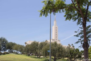 Mormon Temple in Los Angeles