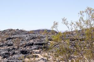 lava rock near Amboy Crater