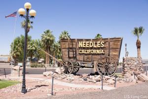 Needles welcome wagon