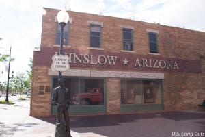 A corner in Winslow Arizona