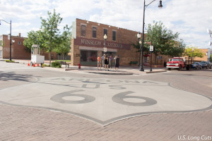 Route 66 intersection, Winslow