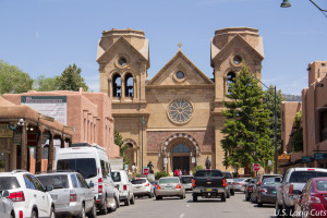 Cathedral Basilica in Santa Fe