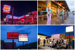 Williams AZ diners and gift shops