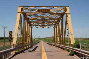 bridge across Timber Creek